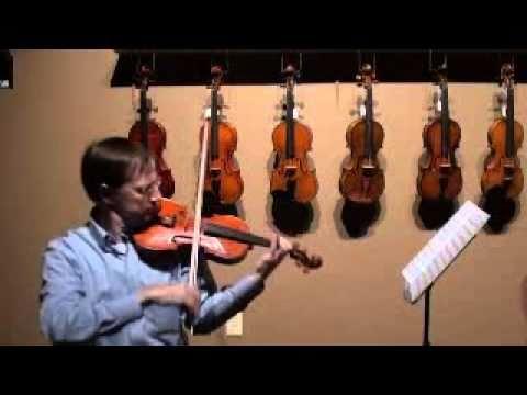 mouret rondeau violin (видео)