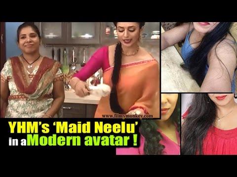 Yeh Hai Mohabbatein 'Maid Neelu' aka Neeru Agarwal in a GLAMOROUS AVATAR off-screen (видео)