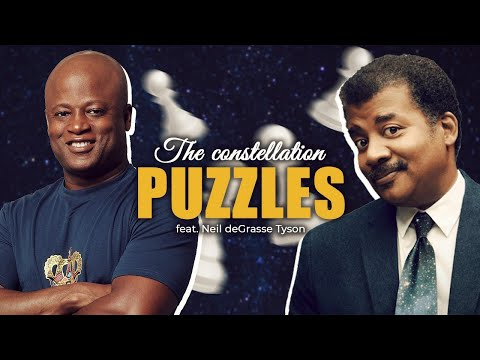 Neil deGrasse Tyson Talks Chess and Takes the Constellation Puzzle from GM Ashley