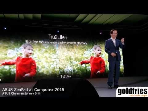 Asus zenpad at computex 2015