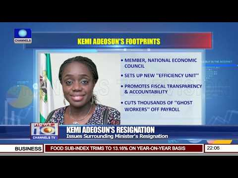 Implications Of Finance Minister's Exit On Nigeria's Economy - Ogunye