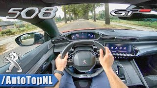 4. 2019 Peugeot 508 GT First Edition 225HP POV Test Drive by AutoTopNL