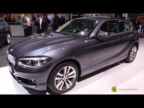 2016 BMW 1-Series 120d xDrive – Exterior and Interior Walkaround – 2015 Geneva Motor Show