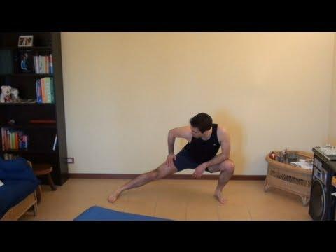 Stretching arti inferiori: Quadricipiti, polpacci, ischiocrurali, interno ed esterno coscia e glutei