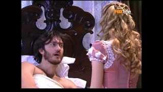 Lemos manda Damiana ir buscar Aurélia. Aurélia e Fernando se beijam. Damiana chega para levar Aurélia.