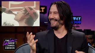 Nonton Keanu Reeves Watches His 1980s Coca Cola Commercial Film Subtitle Indonesia Streaming Movie Download