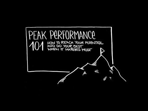 Peak Performance 101 masterclass (intro only)