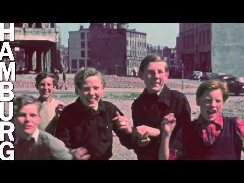 1948: Hamburg 1948 - Einzigartige Filmaufnahmen in Fa ...