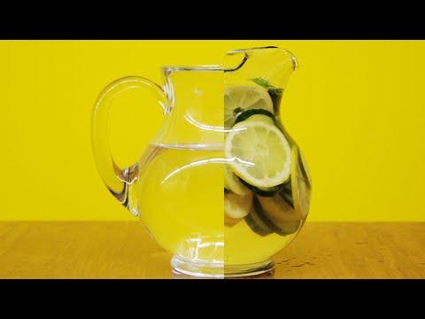 un modo davvero salutare per bere l'acqua