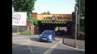 Swindon United Kingdom  city pictures gallery : Swindon. The most hit bridge in the UK.