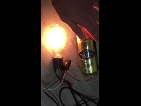 touch dimmer test
