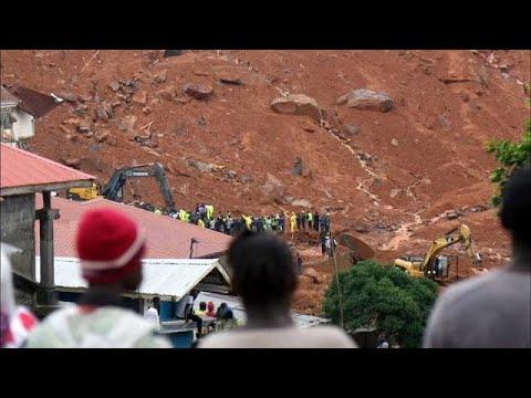 Αυξάνεται ο αριθμός των νεκρών στη Σιέρα Λεόνε