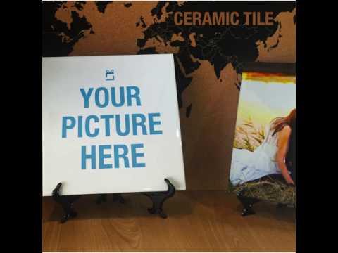Print On Ceramic - Personalised Gift On Ceramic Tile