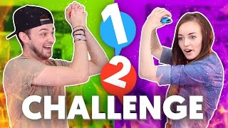 This was SO MUCH FUN - Let's see who's better at the Nintendo Switch 1-2 minigames. Enjoy! :D ► More mini-games in Clare's video - https://www.youtube.com/wa...