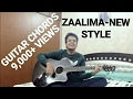 ZAALIMA | RAEES | ACOUSTIC GUITAR COVER (CHORDS) | SHAHRUKH KHAN | ARIJIT SINGH