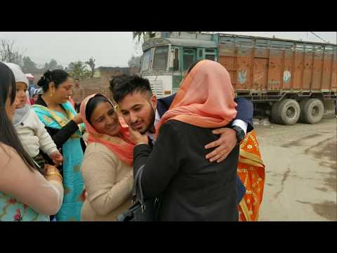 Surprise Homecoming from Canada to Punjab after 2 years