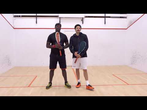 Squash tips: Clean hitting on the backhand with Jethro Binns - Introduction