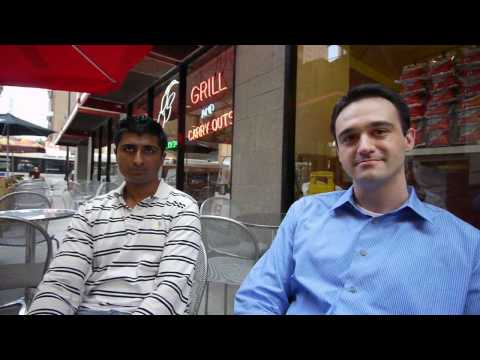 Neno and Shivam on life at 235 Van Buren