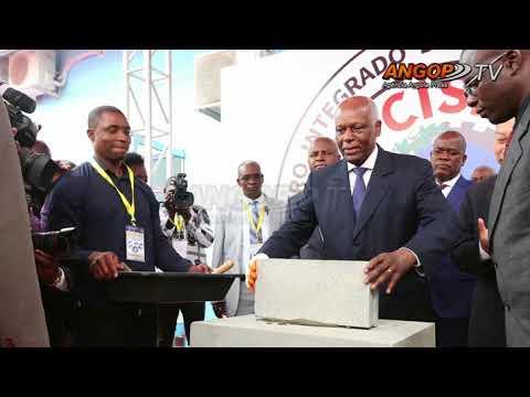 Presidente da República lança pedra do Centro Integrado de Segurança Pública