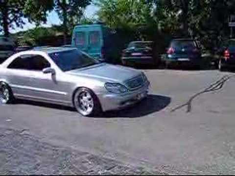 Mercedes S-Klasse MAE Umbau - Mercedes S-Klasse mit geilem V8 Sound und schönen Felgen! Das Rennen gegen den Rollstuhlfahrer find ich nen bisschen unfähr ;)...