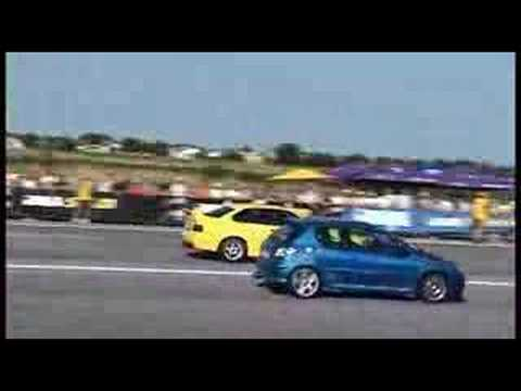 peugeot 206 rc vs bmw m3