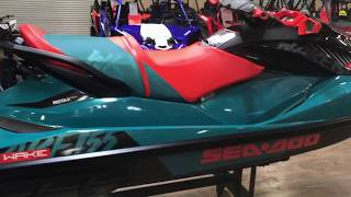 6. 2018 SEA-DOO WAKE 155