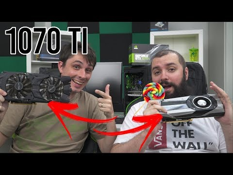 Chipart - GTX 1070TI GALAX VS GTX1070TI FOUNDERS