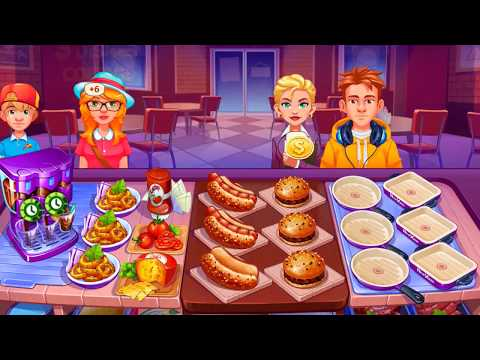 COOKING CRAZE IOS / Android Gameplay | Fastfood Restaurant