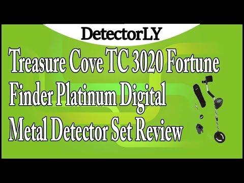 Treasure Cove TC 3020 Fortune Finder Platinum Digital Metal Detector Set Review