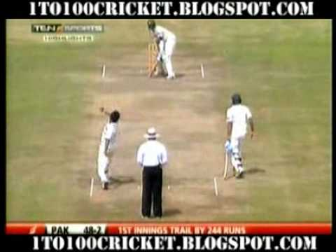 SL Vs PAK - 1st Test match 2009 - Galle - Day 2 - 1st Session - HL