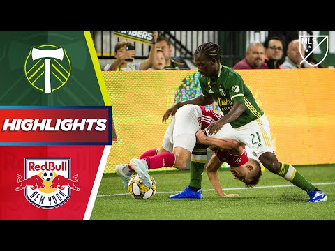 Video: Portland Timbers vs. New York Red Bulls | A Stoppage Time Penalty! | Highlights