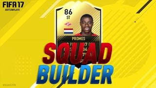 FIFA 17 Squad Builder - CHEAP OP INFORM STRIKER UNDER 30K!! w/ SIF Promes / 86 Promes! ► Follow me on Twitter! http://twitter.com/HuttonPlays ► Check out my ...