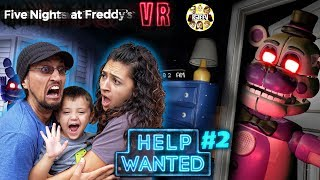 FIVE NIGHTS at FREDDY's HELP WANTED #2! Mom Plays & We GLITCHED the GAME! (FGTEEV FNAF Real Life?)