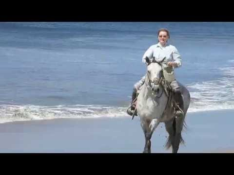 Rancho Santana Beach horseback riding