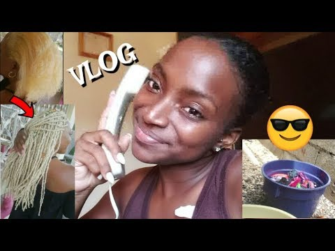 Vlog 33| Life In Jamaica: Rainy Day, Filming, NaturalGlamLocs #NaturalGlamByToya