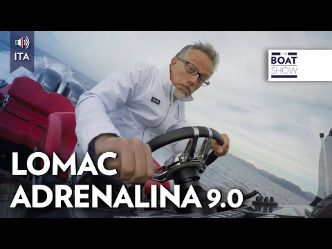 [ITA] LOMAC Adrenalina 9. 0 - Test Gommone - The Boat Show