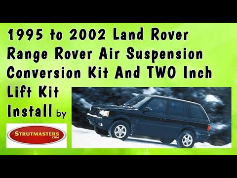 Range Rover Air Suspension Parts | Shock and Coil Spring Replacement with a 2-inch Lift