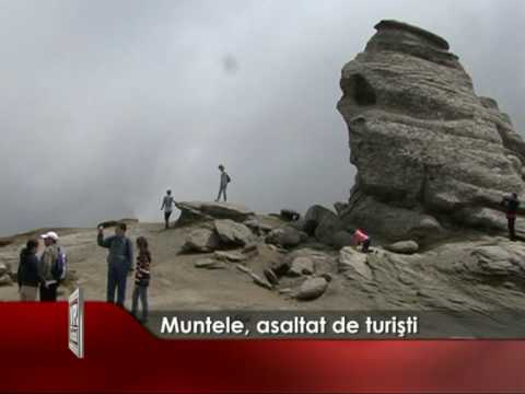 Muntele, asaltat de turisti
