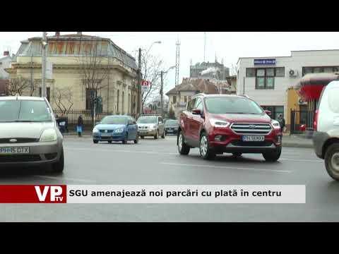 SGU amenajează noi parcări cu plată în centru