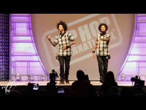 Les - Les Twins | World Hip Hop Dance Finals 2013 | Step x Step Les Twins performed at Hip Hop International's World Hip Hop Dance Championship Finals 2013 on Sunday in front of thousands of attendees...