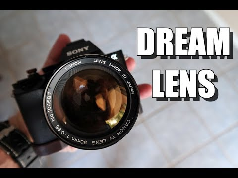 The Most Artistic Lens I have Ever Owned. The DREAM LENS!