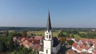 Drohnenflug Jockgrim.