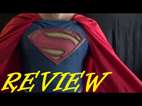 Costume Review: Rubies Grand Heritage Superman Man of Steel Costume