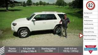 2014 Toyota 4Runner Review - The Last Of A Dying Breed.