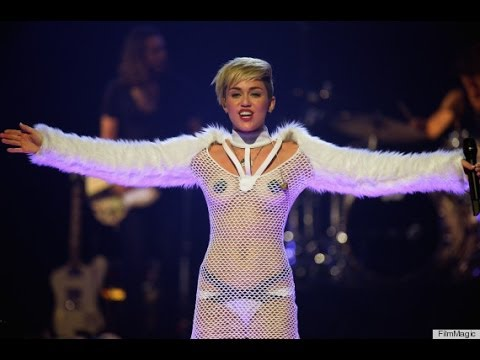 Miley Cyrus live performance new year 2014 time square new york countdown ball drop