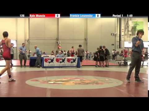 Cadet – BOY 126 – Kyle Muncie vs. Frankie Lesowske
