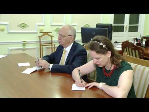 Președintele țării a avut o întrevedere cu Ambasadorul Federației Ruse