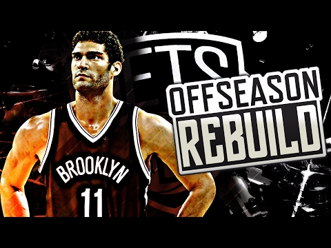 NBA 2K17 MY LEAGUE: OFFSEASON REBUILD - BROOKLYN NETS! BEST TEAM EVER!
