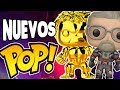 NUEVOS Funko POP de Marvel, Ant Man and The Wasp, POKEMON y MAS