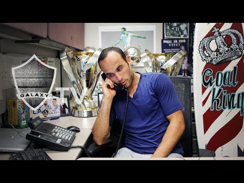 Calls - At StubHub Center, LA Galaxy forward Landon Donovan gets a little over-excited for the Supporters' Shield deciding match against the Seattle Sounders. Want to see more from the LA Galaxy?...